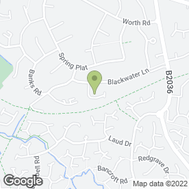 Map of AST Plastering in Crawley, west sussex