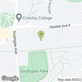 Map of Choice Vehicle Rentals Ltd in Crawley, west sussex