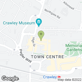 Map of Kismet Takeaway in Crawley, west sussex