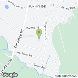 Map of Chris Peters in East Grinstead, West Sussex, west sussex