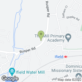 Map of Tray-Bon in Ifield, Crawley, west sussex