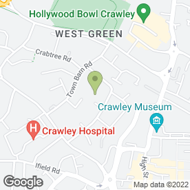 Map of Glimeti Associates in Crawley, west sussex