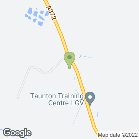 Map of Taunton Training Centre in Bridgwater, Somerset, somerset