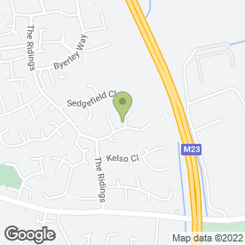 Map of Amy's Nails Crawley in Worth, Crawley, west sussex