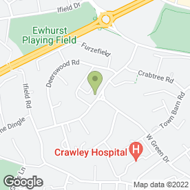 Map of Shanghai Cottage in Crawley, west sussex