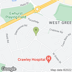 Map of Revive in Crawley, west sussex