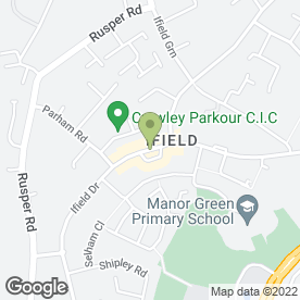 Map of Serenity Hair & Beauty in Crawley, west sussex