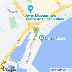 Map of The Earth Collection in DOVER, kent