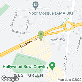 Map of Timpson Locksmith & Safe Engineers in Crawley, west sussex