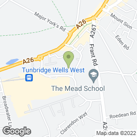 Map of EM Communications in Tunbridge Wells, kent