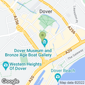 Map of Bairstow Eves in Dover, kent