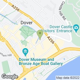 Map of Singleton Saunders Flood Solicitors in Dover, kent