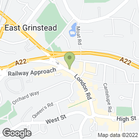 Map of Rusdens Ltd in East Grinstead, west sussex