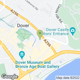 Map of Bradleys in Dover, kent
