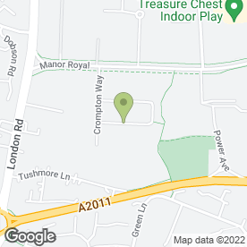 Map of Colbridge Engineering Ltd in Crawley, west sussex