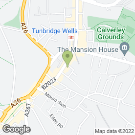 Map of Feather & Black in Tunbridge Wells, kent