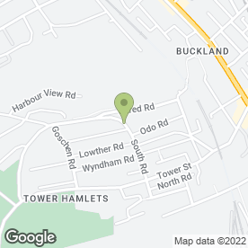 Map of Alan Ball Roofing in Dover, kent