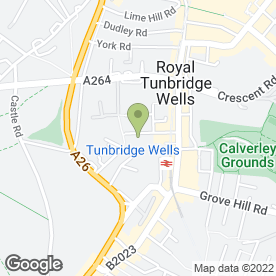 Map of Squeaky Clean Mob in Tunbridge Wells, kent