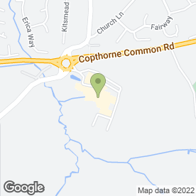 Map of The Art of Hair in Copthorne, Crawley, west sussex