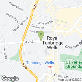 Map of BERRY & BERRY in Tunbridge Wells, kent