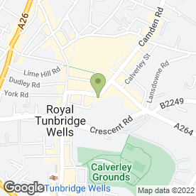 Map of Alexanders Property Services in Tunbridge Wells, kent