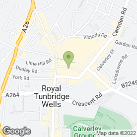 Map of Vodafone Ltd in Tunbridge Wells, kent
