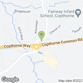Map of W N Autos in Copthorne, Crawley, west sussex
