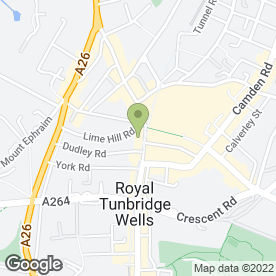 Map of Gap 360 Ltd in Tunbridge Wells, kent