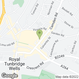 Map of Snapdragon in Tunbridge Wells, kent