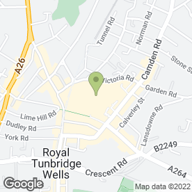 Map of Auntie Anne's Soft Pretzels in Tunbridge Wells, kent