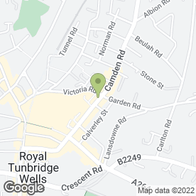 Map of FIRST 4 BRIDES in Tunbridge Wells, kent