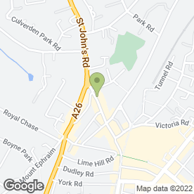 Map of Bailey-Wighton Ltd in Tunbridge Wells, kent