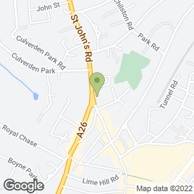 Map of Sovereign Estates in Tunbridge Wells, kent