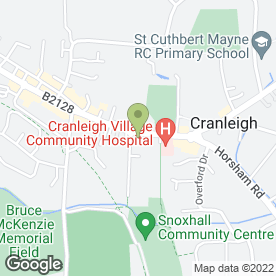 Map of Handymans in Cranleigh, surrey