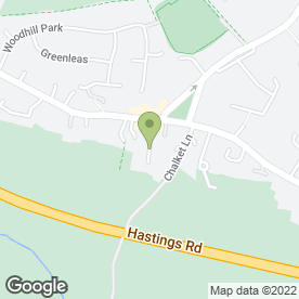 Map of Composing Operations Ltd in Pembury, Tunbridge Wells, kent