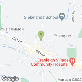 Map of John Edwards Painting & Decorating in Cranleigh, surrey