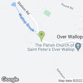Map of HAZELL MINSHALL in Over Wallop, Stockbridge, hampshire