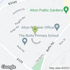 Map of Ardent Driving School in Alton, hampshire
