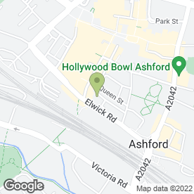 Map of Tiny Tots (Ashford) Ltd in Ashford, kent