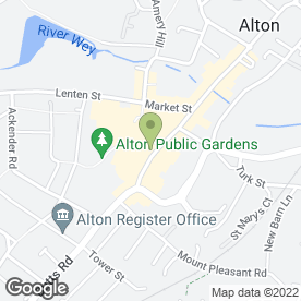 Map of Go Mobile (Alton) Ltd in Alton, hampshire