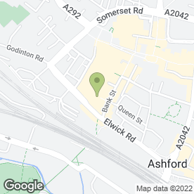 Map of Ashford Fantastic Cleaners in Ashford, kent