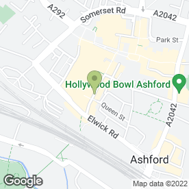 Map of Horton's Drink & Dine in Ashford, kent