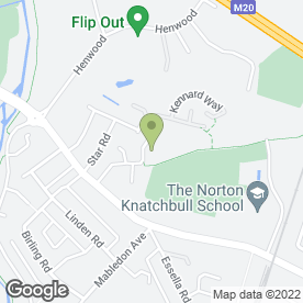 Map of ICM Plumbing & Building Maintenance Ltd in Ashford, kent