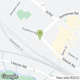 Map of Ashford Fabric Warehouse in Ashford, kent