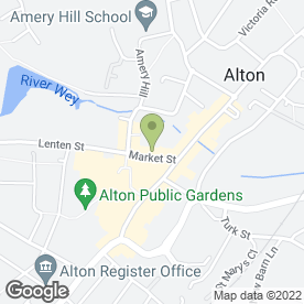 Map of Alton Gold Buyers in Alton, hampshire