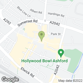 Map of Advanced Lettings Ltd in Ashford, kent