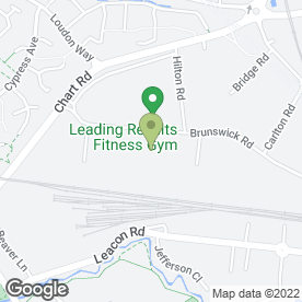 Map of Ashford Self Storage Ltd in Ashford, kent