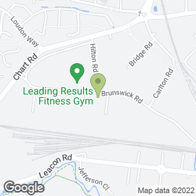Map of Ashford Self Hire Ltd in Cobbswood Industrial Estate, Ashford, kent