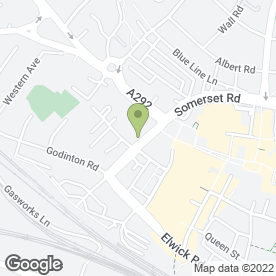 Map of Kent & Sussex Security Ltd in Ashford, kent