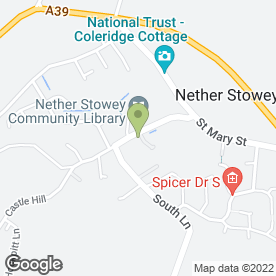 Map of Purepools in Nether Stowey, Bridgwater, somerset